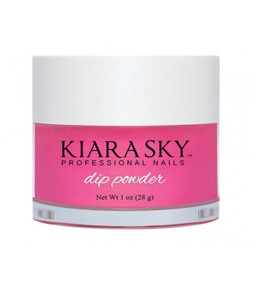 Kiara Sky Dip Powder – Pudra colorata Back to the fuchsia