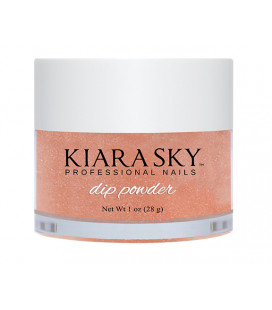 Kiara Sky Dip Powder – Pudra colorata Copper out