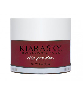 Kiara Sky Dip Powder – Pudra colorata Roses are red