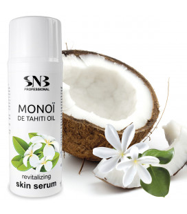 SNB Ser revitalizant pentru piele cu ulei de Monoi
