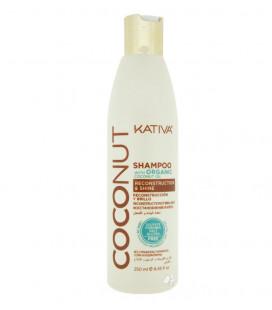 Kativa Sampon cu Ulei de Cocos Organic