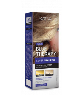 Sampon Kativa Blue Therapy Silver