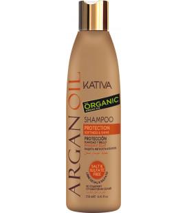 Sampon Kativa pentru Stralucire si Protectie cu Ulei Organic de Argan