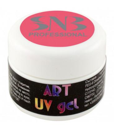 SNB Art UV Gel Colorat Roz