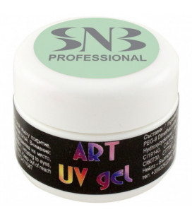 SNB Art UV Gel Colorat Verde Deschis