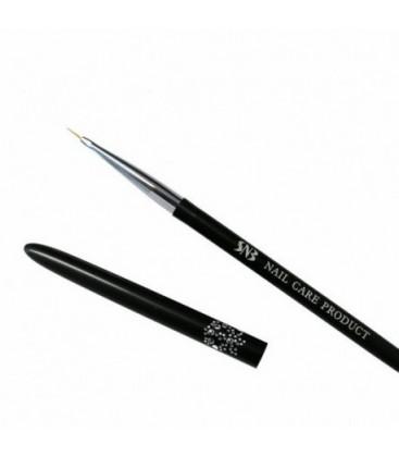 SNB Pensula pentru pictura pe unghii cu par subtire si scurt