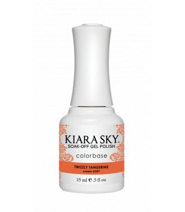 Kiara Sky Lac semi-permanent Twizzly tangerine