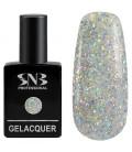 SNB Gelacquer Lac semi-permanent 190 Glitter