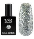 SNB Gelacquer Lac semi-permanent 192 Glitter