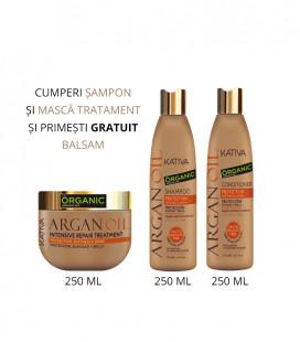 Kativa Kit cu ulei de ARGAN Balsam 250 ml GRATUIT