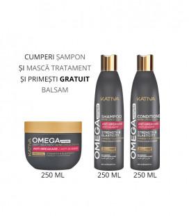 Kativa Kit Anti-rupere cu Omega 3,6,7 si 9 Nutri Complex- Balsam 250 ml GRATUIT