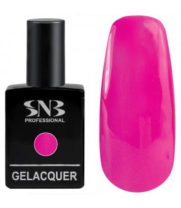 SNB Gelacquer Lac semi-permanent 166 Roz Neon
