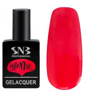 SNB Gelacquer Lac semi-permanent GLI08 Intense Corai Neon
