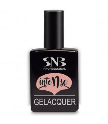 SNB Gelacquer Lac semi-permanent GLI16 Intense Nude