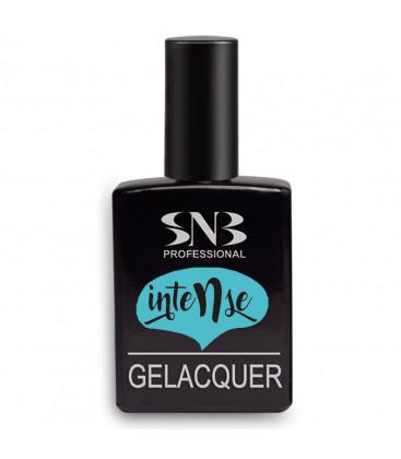 SNB Gelacquer Lac semi-permanent GLI18 Intense Turqoise