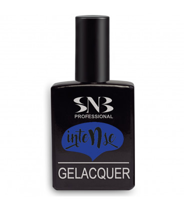 SNB Gelacquer Lac semi-permanent GLI19 Intense Albastru