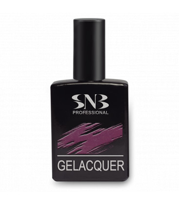 SNB Gelacquer Lac semi-permanent GLD004- Marsala
