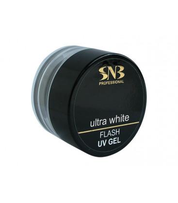 SNB Gel UV Ultra alb pentru constructie french