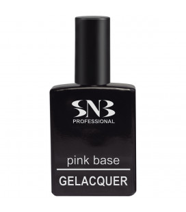 SNB Gelacquer Pink Base