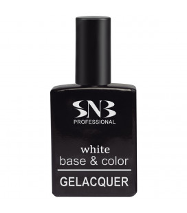 SNB Gelacquer White Base & Color 2 in 1