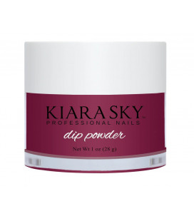Kiara Sky Dip Powder - Pudra colorata Plane and Simple- Pruna