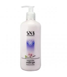SNB Crema Gel pentru maini cu aroma de magnolie