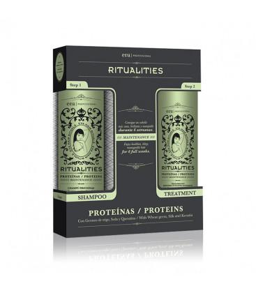 Kit Ritualities Tratament pentru restaurarea proteinelor parului 2x250ml