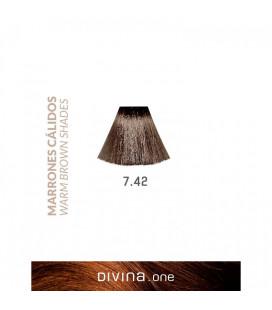 Eva Professional Vopsea de par 7.42 Tobacco Brown