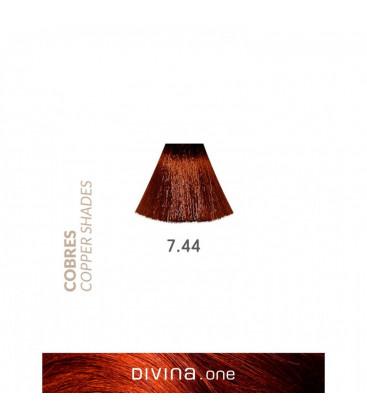 Eva Professional Divina.One Vopsea de par 7.44 Whisky Coppery