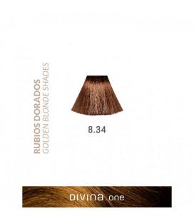 Vopsea de par 8.34 Sahara Blonde 100 ml Divina.One Eva Professional