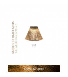 Vopsea de par 9.3 Minerva Extra Blonde 100 ml Divina.One Eva Professional