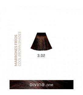 Vopsea de par 3.02 Swiss Brown 100 ml Divina.One Eva Professional