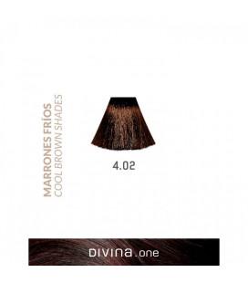Vopsea de par 4.02 Vienna Brown 100 ml Divina.One Eva Professional
