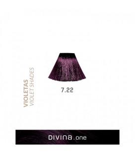 Vopsea de par 7.22 Plum Violeta 100 ml Divina.One Eva Professional