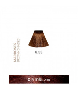 Vopsea de par 6.53 Havana Brown 100 ml Divina.One Eva Professional