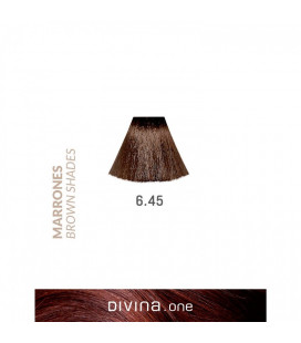 Vopsea de par 6.45 Hazelnut Brown 100 ml Divina.One Eva Professional
