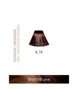 Vopsea de par 6.12 Dark Iridescent 100 ml Divina.One Eva Professional