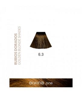 Vopsea de par 6.3 Mississippi Blonde 100 ml Divina.One Eva Professional