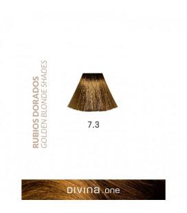 Vopsea de par 7.3 Olympic Blonde 100 ml Divina.One Eva Professional