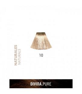 Vopsea de par fara amoniac 10 Platinum Blonde 60 ml Divina.Pure Eva Professional
