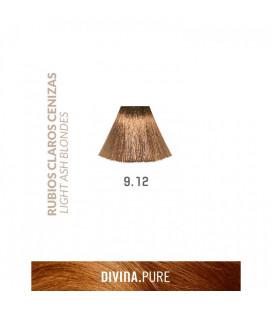 Vopsea de par fara amoniac  9.12 Pearly Blonde 60 ml  Divina.Pure  Eva Professional