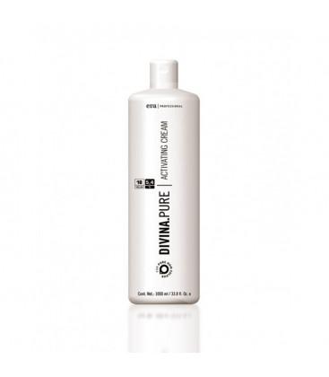 Crema activatoare 18 vol / 5,8 % pentru vopsea fara amoniac  Divina. Pure Eva Professional