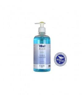 Ekomax iGel Blue- Gel alcoolic igienizant pentru maini