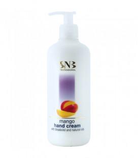 SNB Crema cu Bisabolol si uleiuri naturale cu aroma de Mango pentru maini 500ml