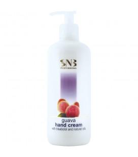 SNB Crema cu Bisabolol si uleiuri naturale cu aroma de Guava pentru maini 500ml