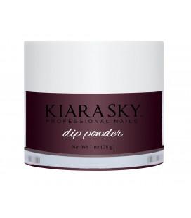 Kiara Sky Dip Powder - Pudra colorata Give Me Space Grena