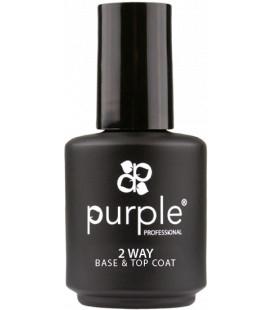 Purple Baza & Top 2 in 1 pt oja semipermanenta