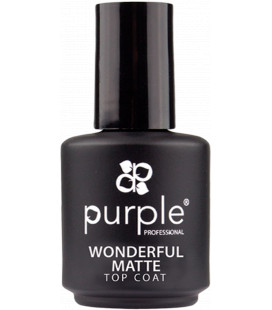 Purple Wonderful Top Mat pt oja semipermanenta