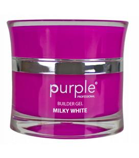 Purple Gel bifazic pentru constructie Milky White