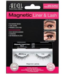 Ardell Kit Eyeliner magnetic lichid + Gene magnetice Lash110